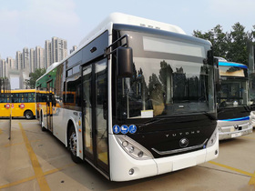 Вид 0: Yutong Yutong ZK6128 HG-CNG сжатый природный газ, низкопольный городской, Евро 5